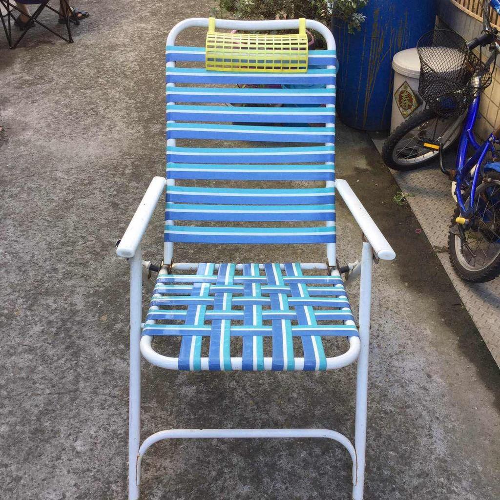 折疊椅子躺椅午休床午睡椅辦公室夏涼靠椅逍遙椅陽台沙灘椅