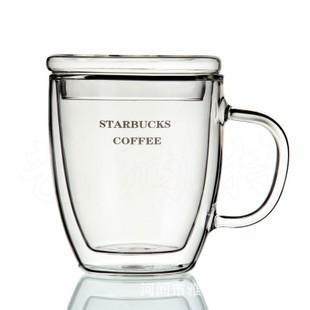 星巴克雙層杯STARBUCKS 款字母杯含杯蓋雙層杯、馬克杯、玻璃杯、隔熱杯、保溫杯、文青