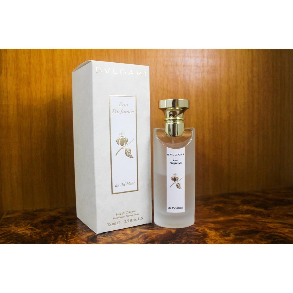 寶格麗白茶中性古龍水/Bvlgari Eau Parfumee au The Blanc