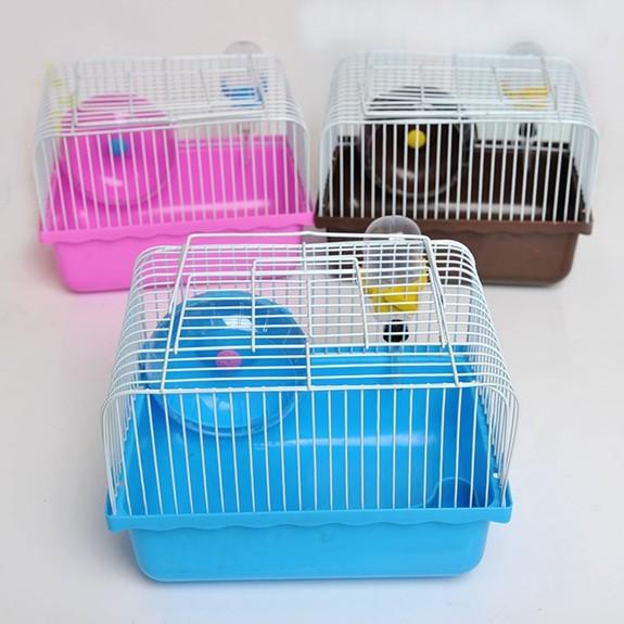 ~安安小館寵物用品店~寵物鼠 籠子單層雙層別墅三層別墅~顏色依 出貨