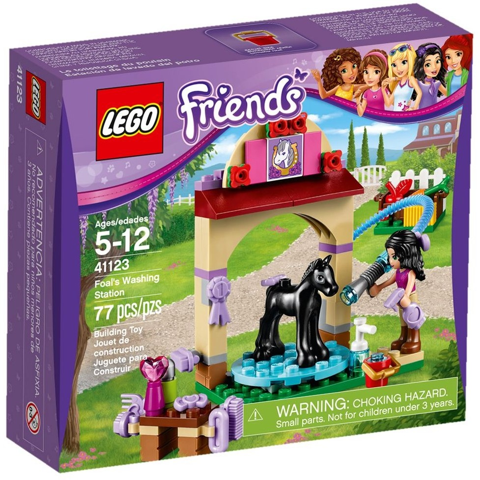 ~Q Brick ~樂高Lego 41123 小馬洗浴中心