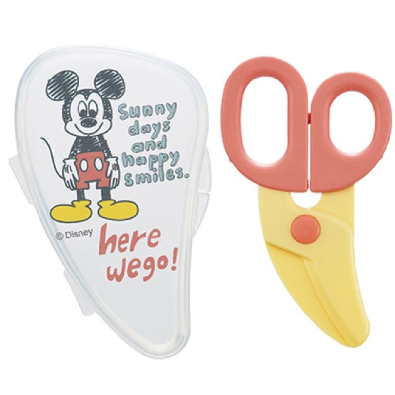 skater 寶寶食物用安全剪刀Mickey 米奇迪士尼Disney 外出餐具嬰兒食物用離