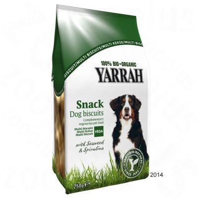 歐瑞Yarrah 有機素食狗餅乾零食添加海藻及螺旋藻250g 包 145