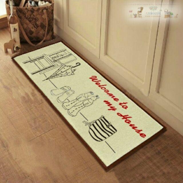 40 100cm zakka 系列雨傘家居地墊地毯門墊腳踏墊