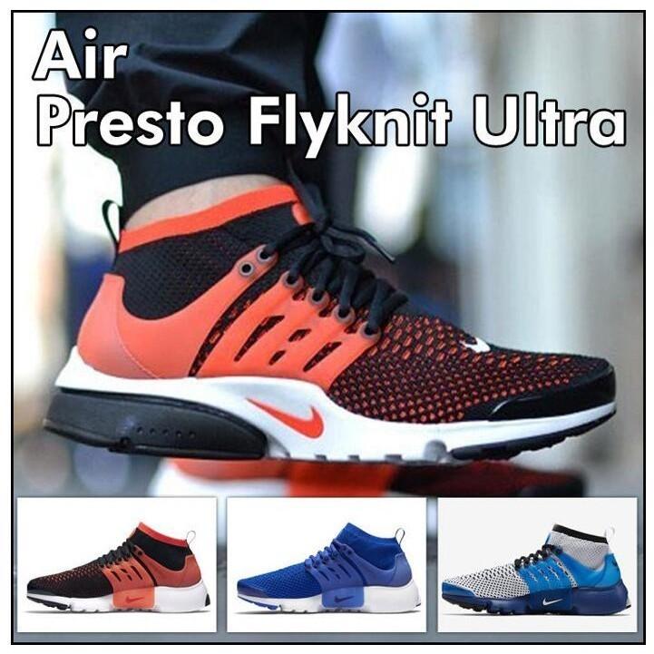 Nike Air Presto Ultra Flyknit 飛線編織襪套慢跑鞋中幫 鞋男鞋