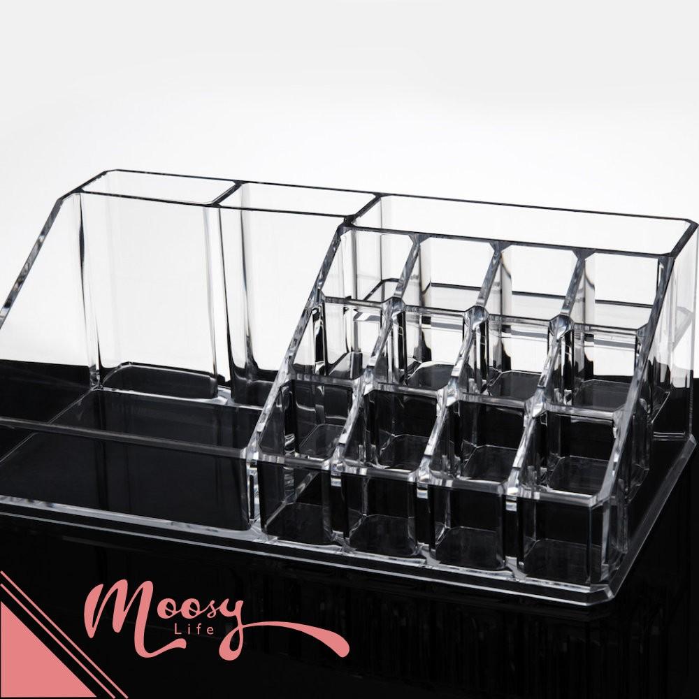 ✨口紅陳列收納✨ 不用等 大 桌上型 水晶透明化妝品保養品化妝盒收納盒ADD 6101
