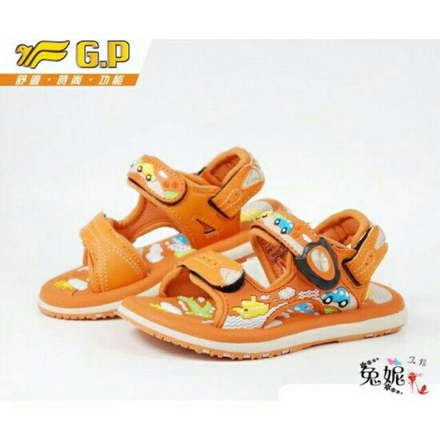 ~兔妮~~ 款~G P 阿亮代言磁扣兩穿卡通 舒適涼鞋夏天玩水 款