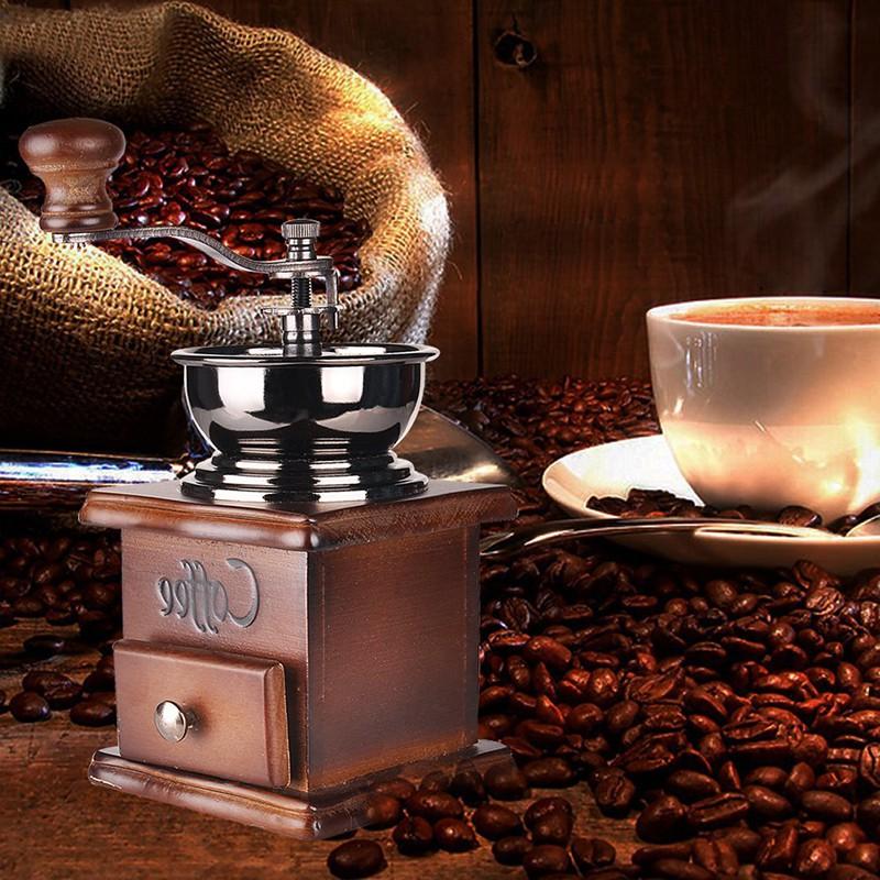 Leegoal ~手搖咖啡磨咖啡豆機~便攜手搖磨豆機咖啡機磨粉機磨咖啡豆機研磨機手動磨豆機