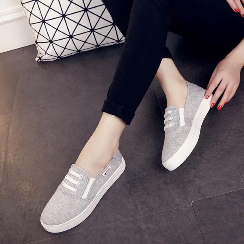 休閒鞋帆布鞋女鞋小白鞋板鞋厚底懶人鞋平底鞋學生鞋