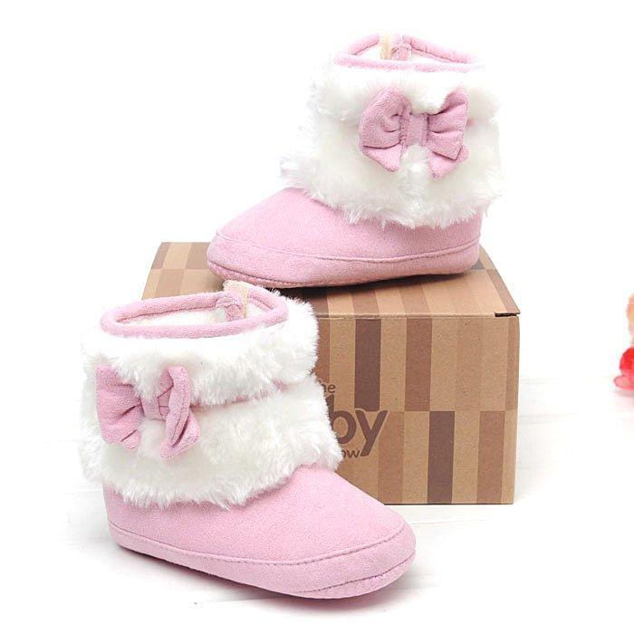 森林寶貝屋粉色 雪鞋學步鞋幼兒鞋寶寶鞋黏扣鞋止滑保暖舒適魔術貼 穿脫方便彌月送禮