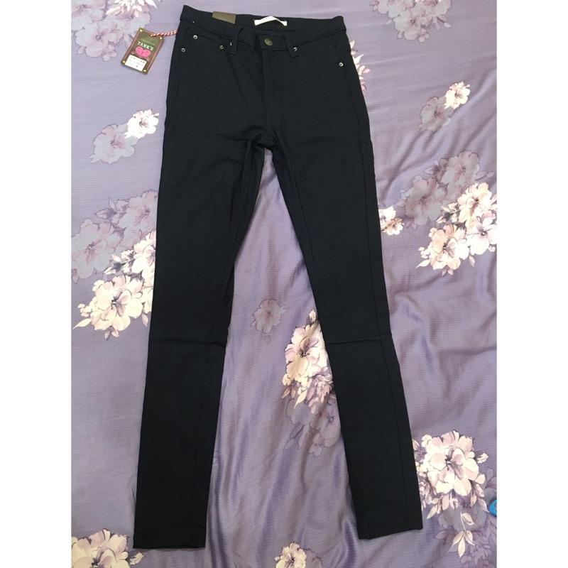 未拆 彈力貼身窄管顯瘦小腳修身褲深藍色M 號Levi s EDWIN