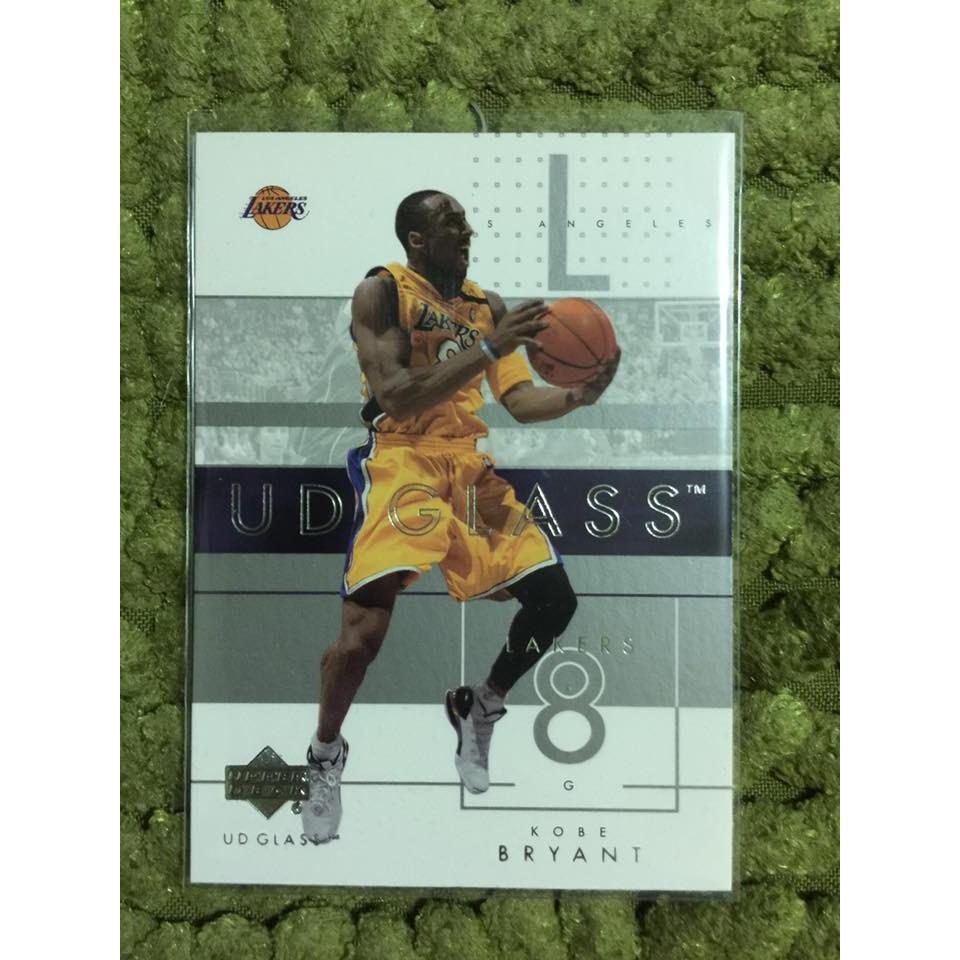 Kobe Bryant 布萊恩小飛俠2003 UD GLASS 34 NBA 球員卡湖人退
