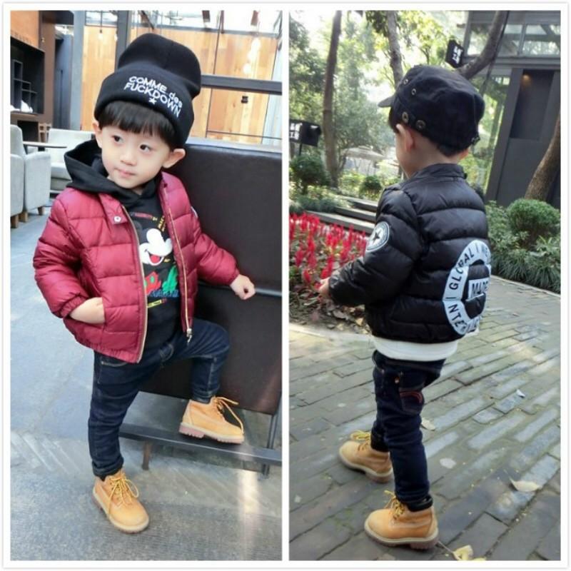 圓圈長袖外套加厚 連帽 幼童中小童冬裝秋裝春裝80 120cm 2 10 歲紅黑二色