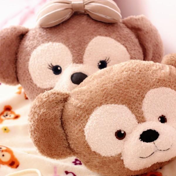 桃樂比~ ~D1682 可愛達菲熊duffy bear 雪莉玫卡通抱枕毯抱枕空調毯二合一