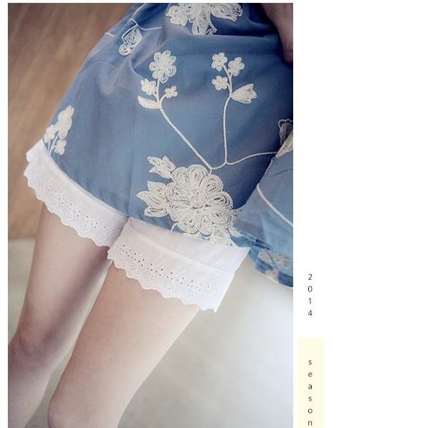 sofi shop 韓國 日系純棉蕾絲邊打底安全褲居家內搭 滿1000 FB 按讚9 5