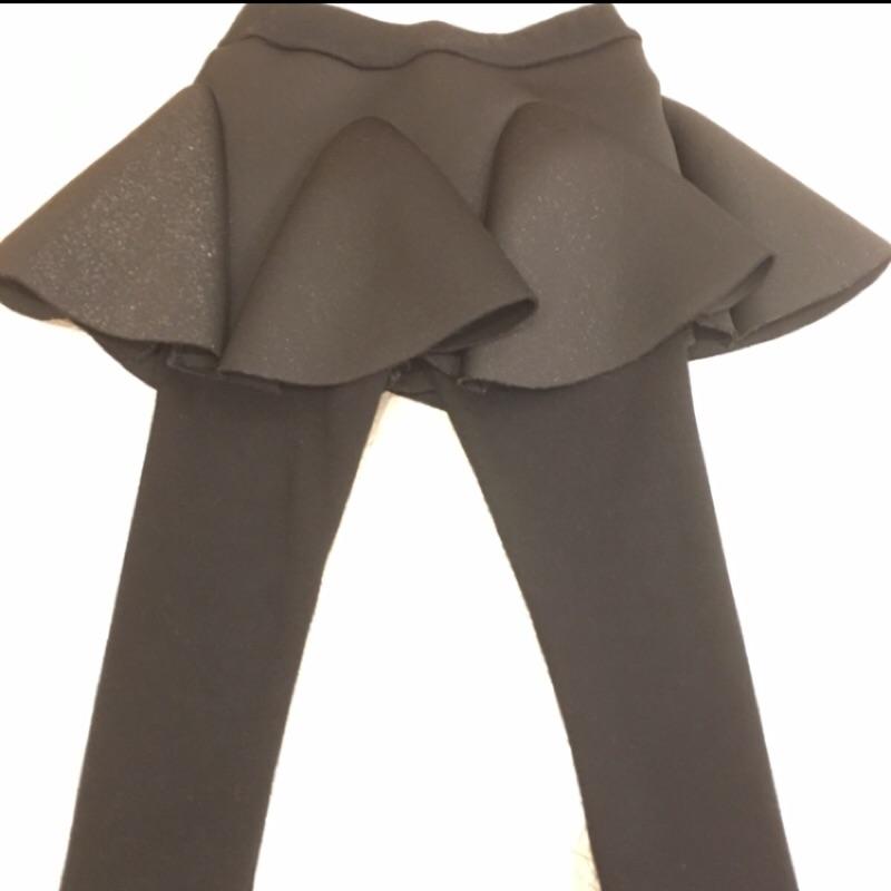 女童冬款加絨蓬蓬裙褲