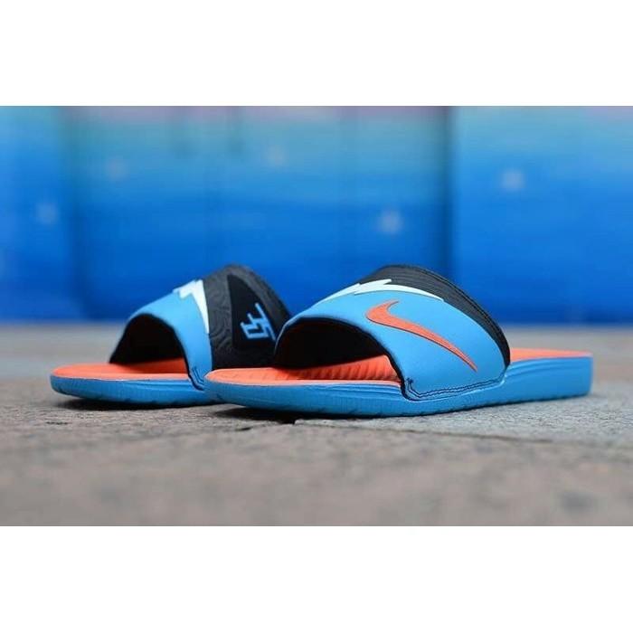 NIKENike AIR ZOOM Kevin Durant 杜蘭特沙灘拖鞋 拖鞋天藍黑男