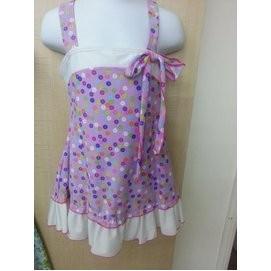 小女童連身裙泳衣~贈泳帽~XL EL 1515 ~ 價190 ~