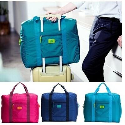 韓國大容量多 防潑水折疊旅行備用收納包旅行 包超大背包