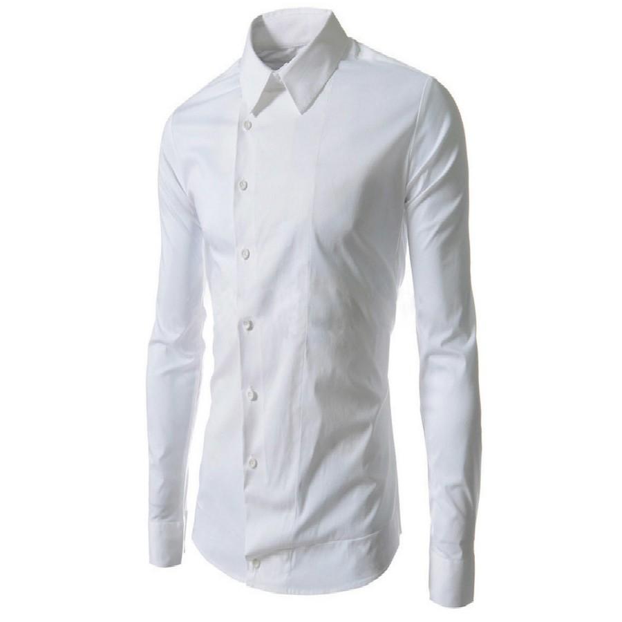 男士 休閒長袖單層襯衫