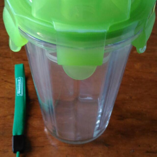 韓國Glasslock 強化玻璃環保攜帶型防漏水杯密封隨行杯500ml RC105 附吊繩