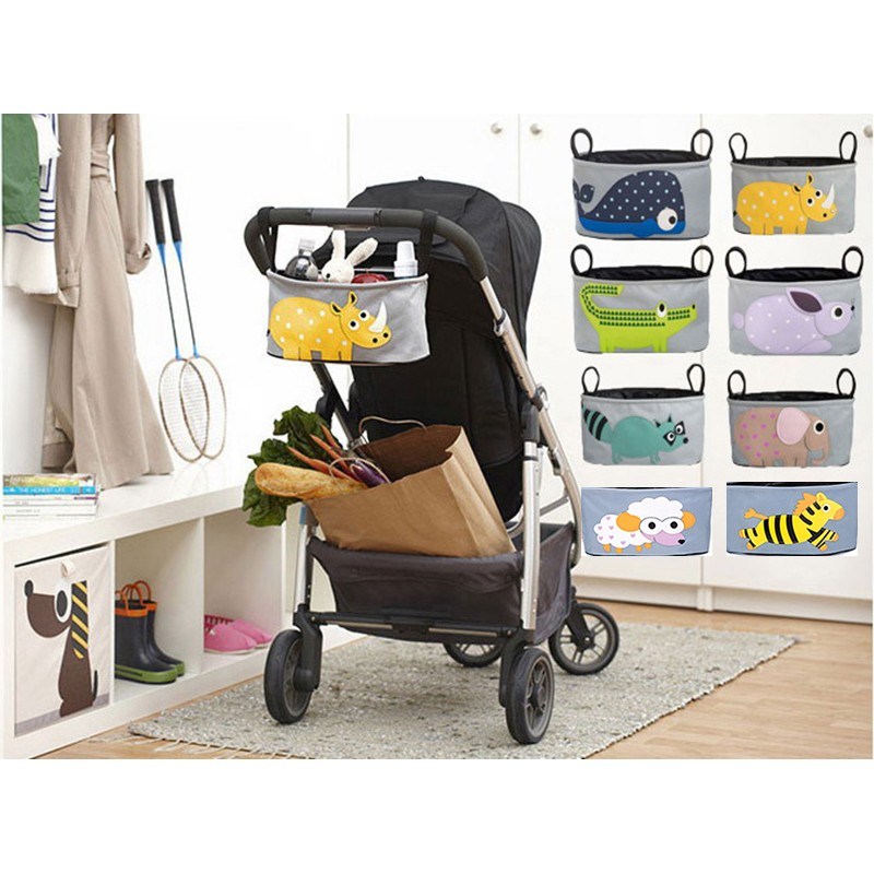 ~福氣屋~可愛動物嬰兒推車媽咪包嬰兒推車掛袋嬰兒車 袋兒童手推車掛包推車 8 款