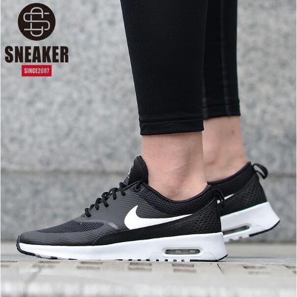 Nike Air Max Thea 耐吉男鞋 鞋耐克女鞋跑步鞋 小氣墊跑鞋黑白百搭情侶款休