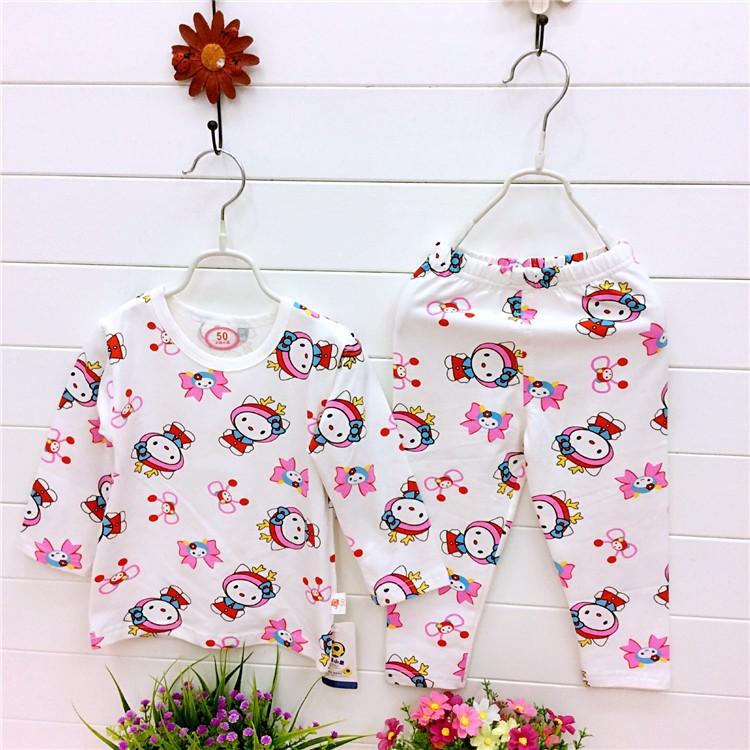兒童睡衣男孩女童 竹纖維長袖薄款中小童套裝空調家居服
