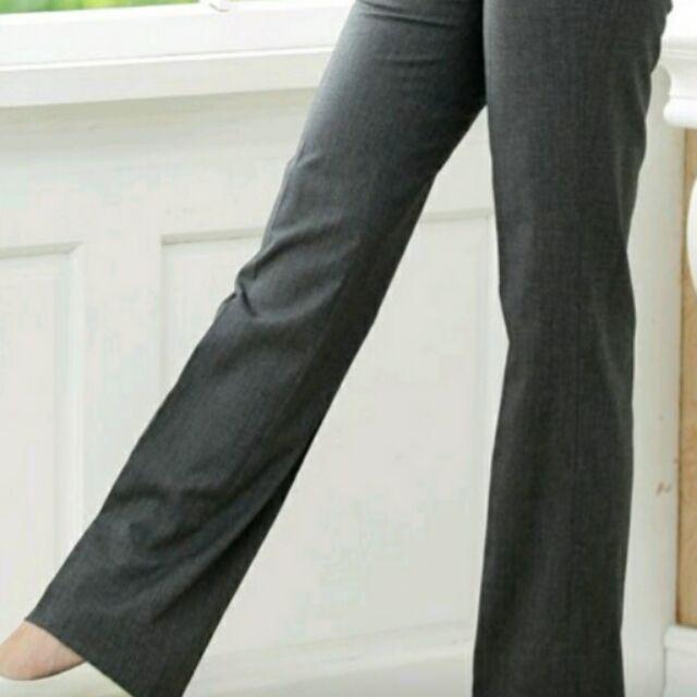 孕婦褲 OL 最愛小喇叭直筒 款