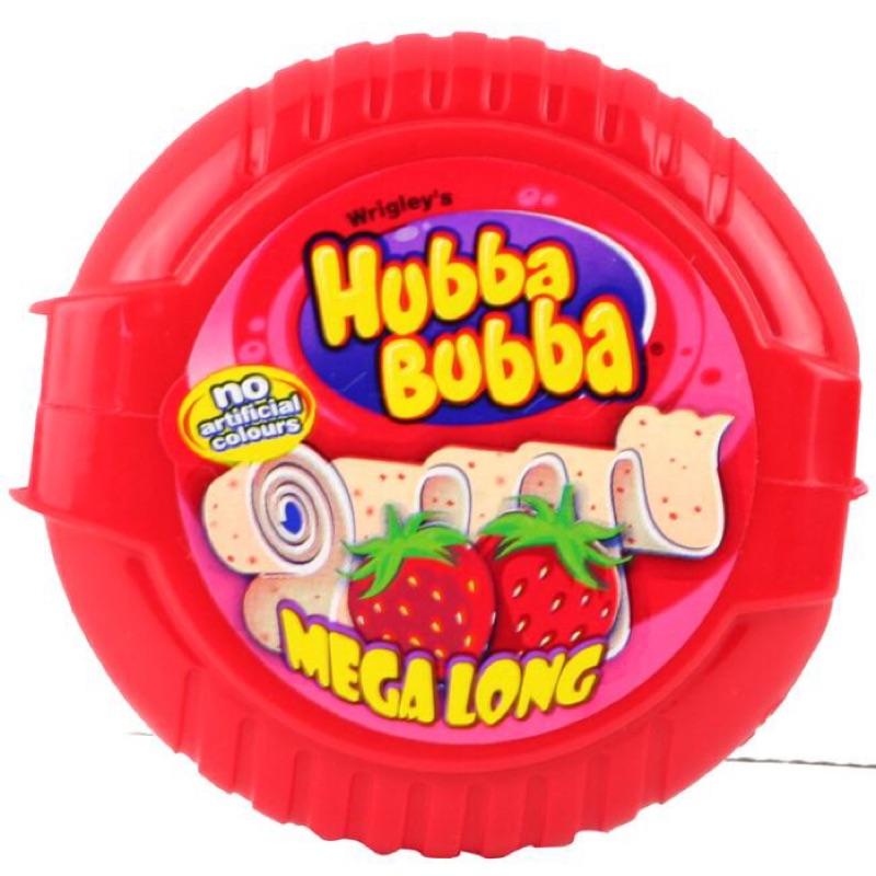 ~夢幻魔糖~ 美國 HUBBA BUBBA BUBBLE TAPE 葡萄口味草莓口味泡泡糖