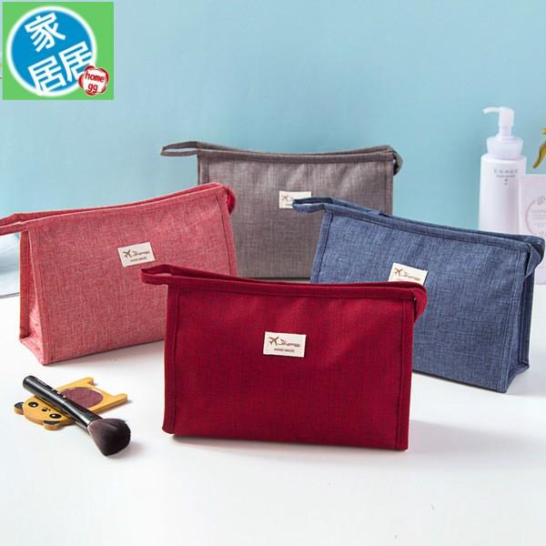 家居居化妝品收納包 大容量化妝包女便攜旅行洗漱包小號化妝袋