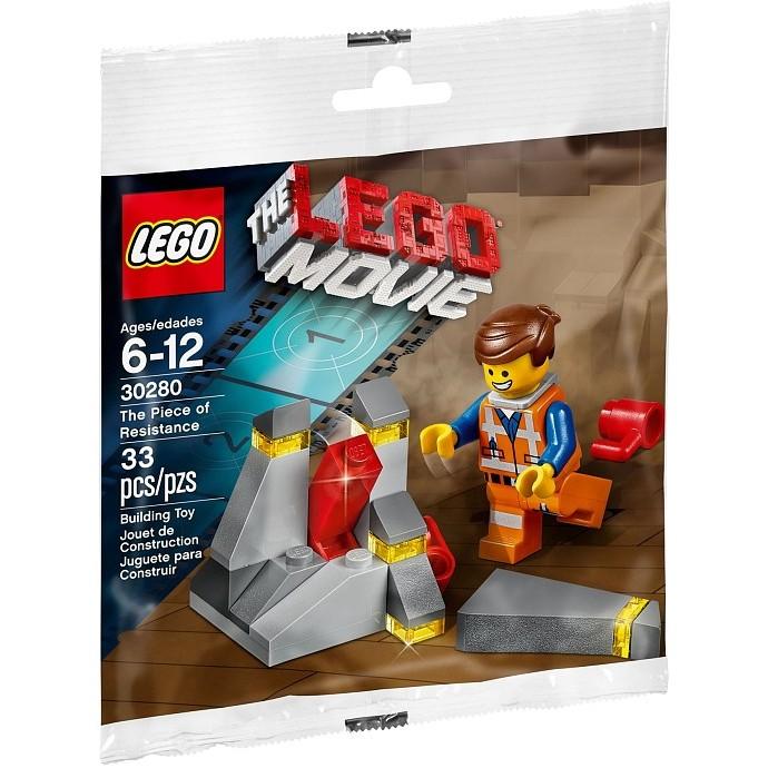 必買站 樂高LEGO 30280 樂高玩電影The piece of resistance