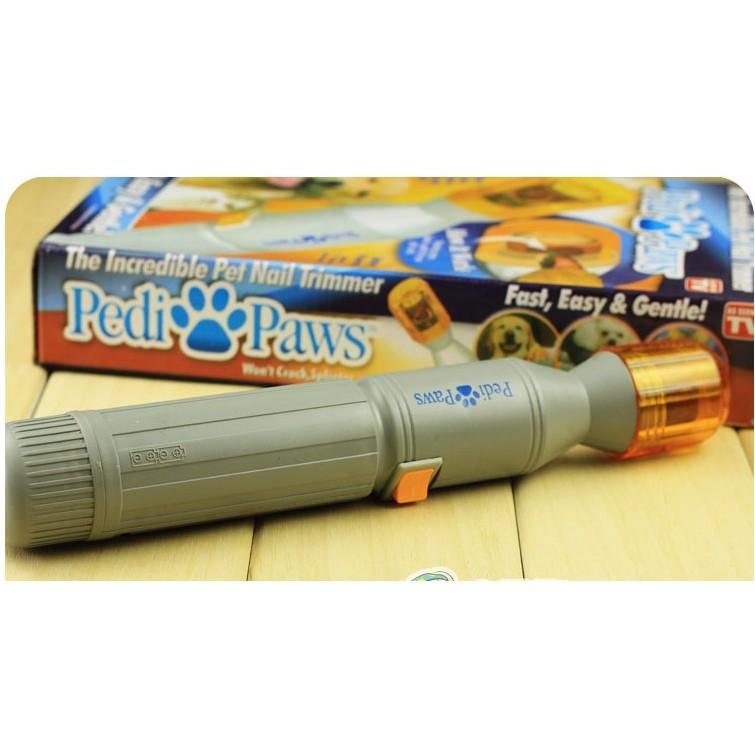 pedi paws 寵物磨爪器電動寵物磨甲器寵物用品寵物指甲修剪器TV 新品Pedi pa