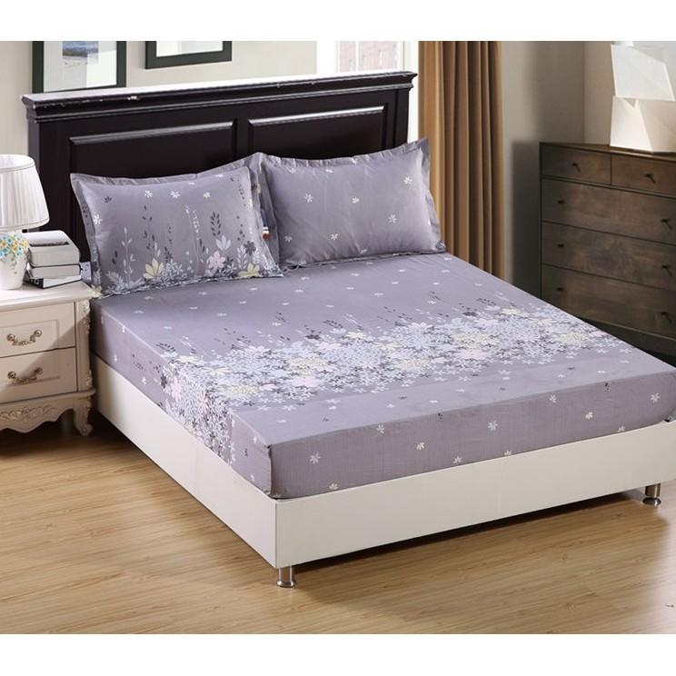 【雙人加大】床罩床單床包防滑床墊套枕頭套寢具用品迷迭香