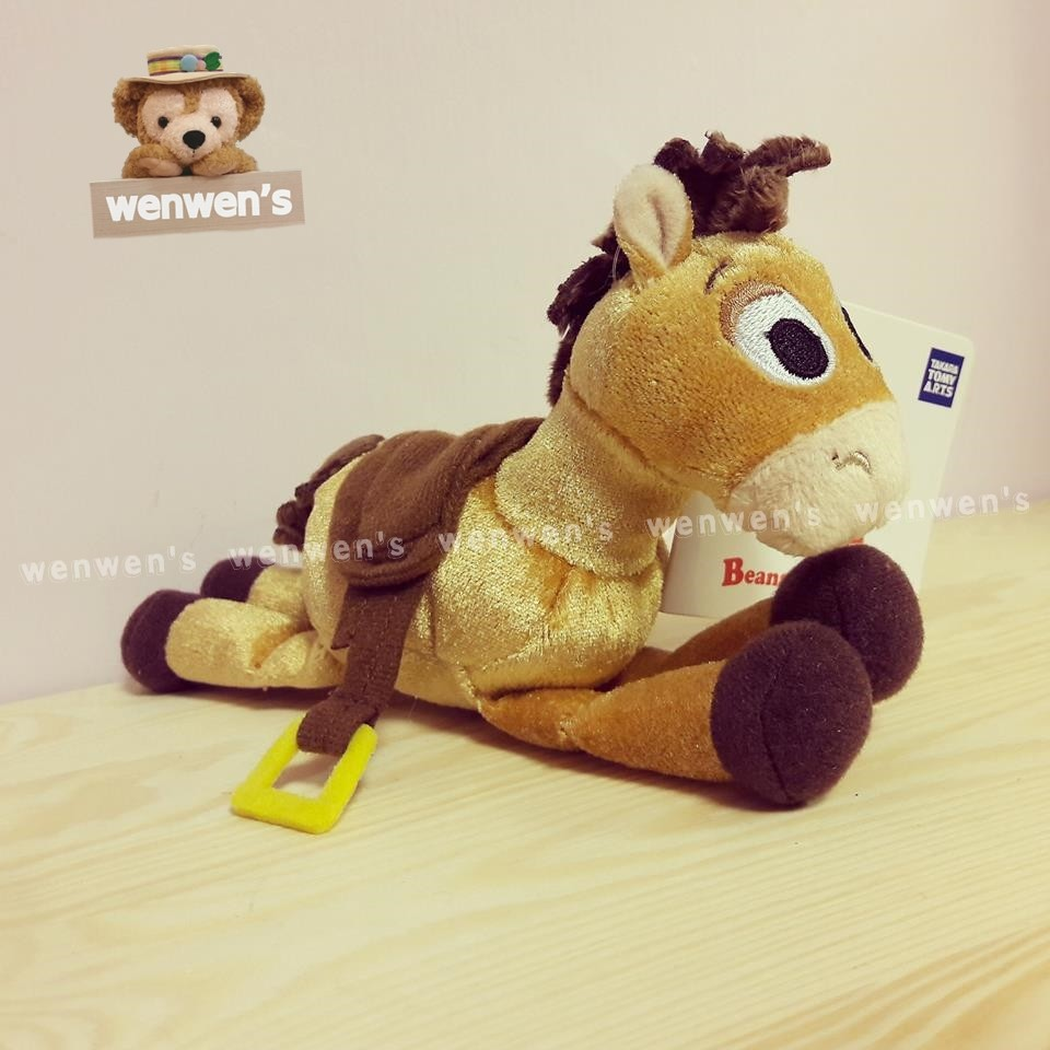 ~Wenwens ~ 帶回Toy Story 玩具總動員TOMY 紅心馬娃娃玩偶布偶長約1