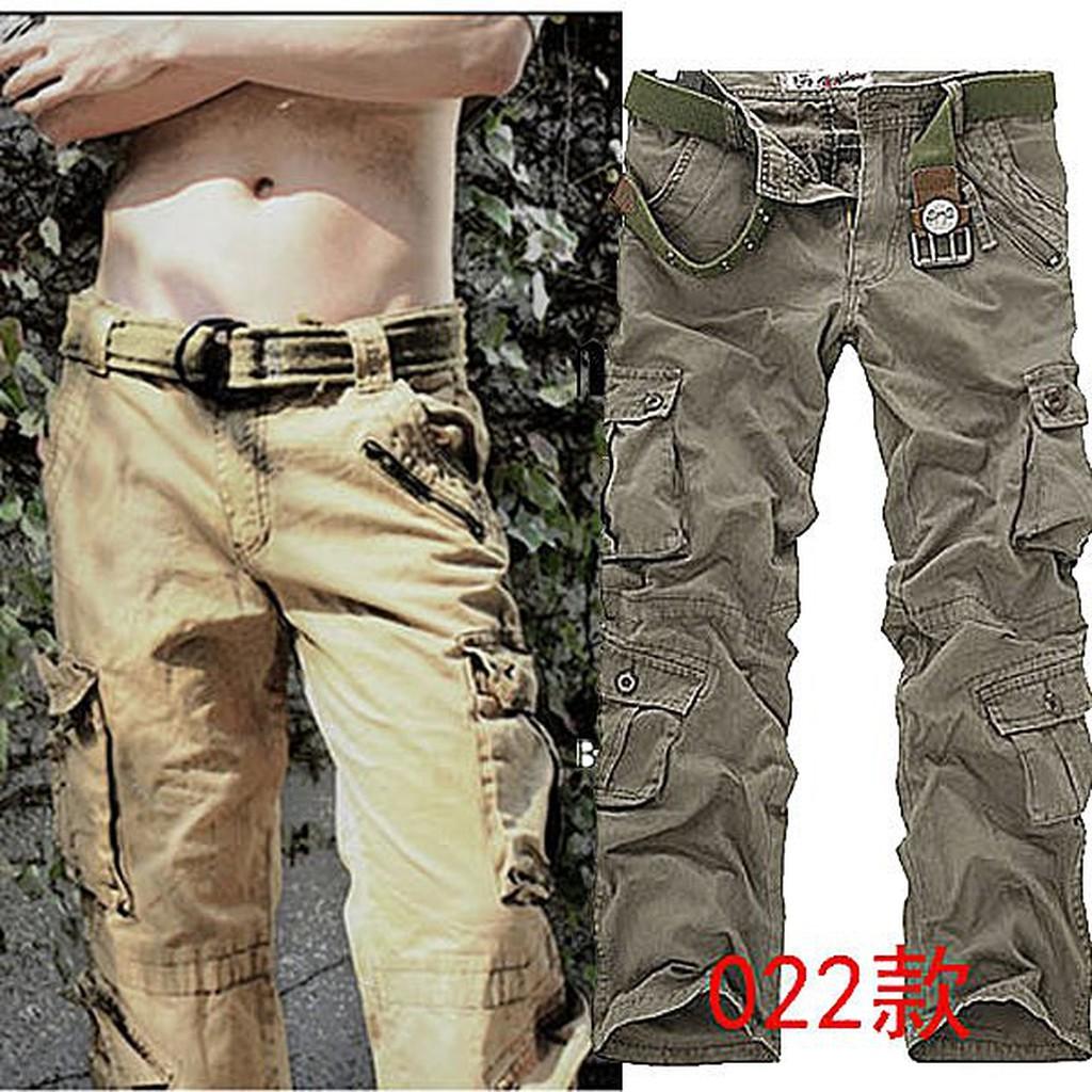 工作長褲M store 新品下殺022 款男士 戶外 長褲加厚水洗工裝褲大 38 腰