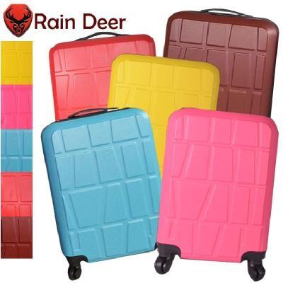 Rain Deer ~ 拼圖ABS 霧面耐磨 靜音輪18 吋行李箱5 色 擇