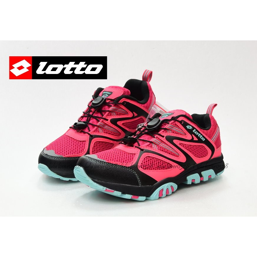 LOTTO 義大利女 水陸車鞋III 苺紅 1280 款請先  中心款