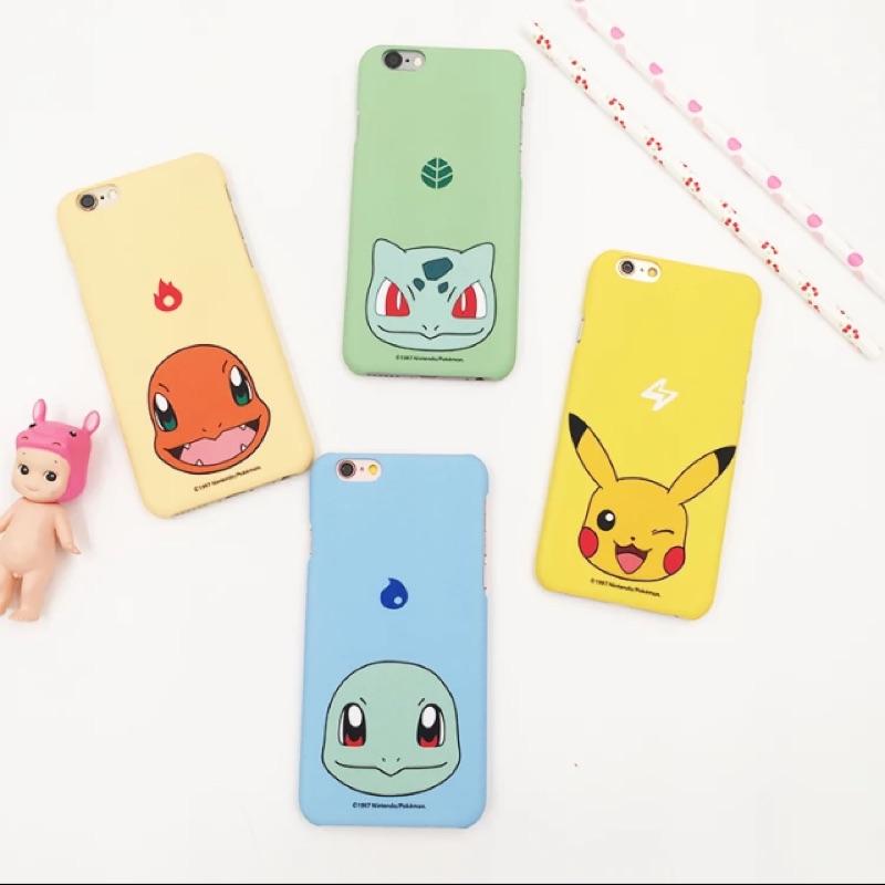 神奇寶貝iphone6 plus 手機殼蘋果皮卡丘磨砂硬殼