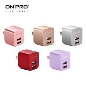 ~3C 寶貝窩~ONPRO UC 2P01 雙USB 輸出電源 器充 5V 2 4A