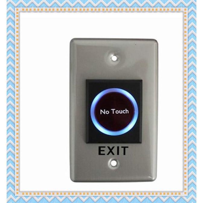 蝦皮尾牙紅外線感應出門開關免接觸按鈕非接觸式開門按鈕門禁用No Touch 避免細菌感染非