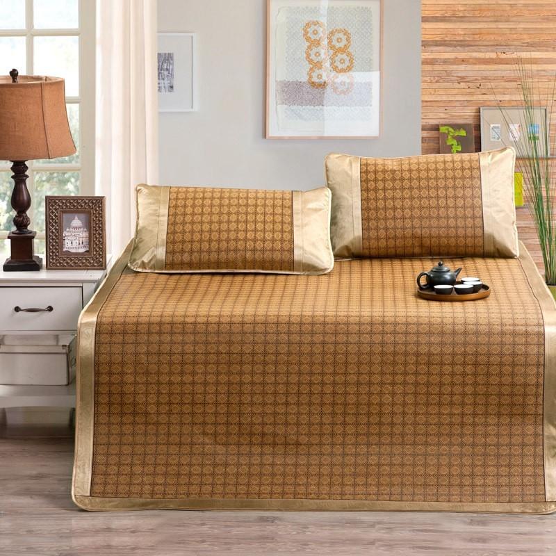 ¥清涼一夏¥空調被單人床包雙人床包床墊床架枕頭枕抱三件套四件套涼席蚊帳廠家直銷