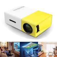 YG300 迷你微型投影機LED 投影儀可切中文介面