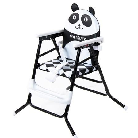 ~HC270 白色~貓熊寶寶高低兩用嬰兒餐椅