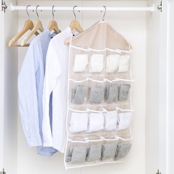 衣櫃內褲襪子分類收納掛袋懸掛式整理袋衣櫥多層收納袋