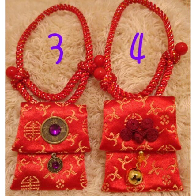 寵物紅包袋項鍊M 號~精緻漂亮~庫存半價 ~保存如新~賣完為止~