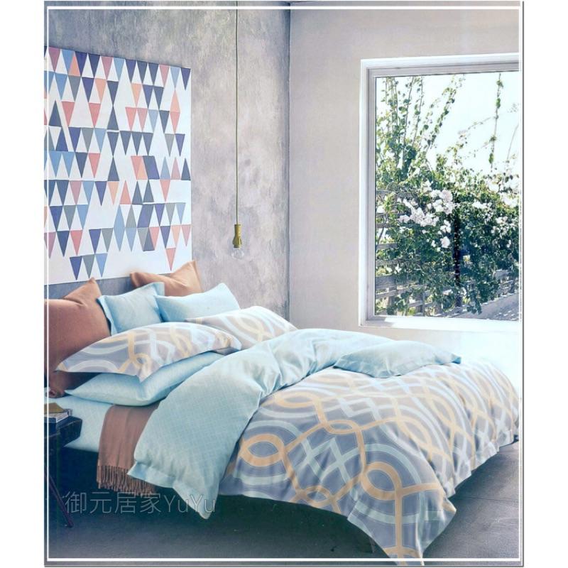 天絲棉TENCEL ~床包組~5 6 2 尺~光影世界~三件套天絲棉寢具˙御元居家