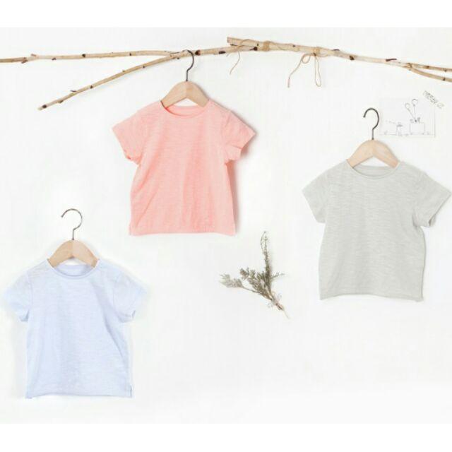 mom 韓國正品UNI friend 男女童竹節棉簡約舒適上衣