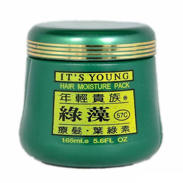 ~露娜小鋪~~°╮年輕貴族綠藻葉綠素護髮霜165ml