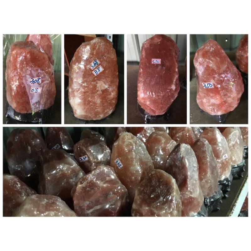 喜馬拉雅山天然礦鹽玫瑰鹽燈2 3kg 299 鴿血紅鹽燈 鹽燈元寶聚寶盆